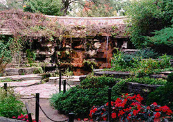 Rock Garden Waterfall at Boerner Botanical Gardens
